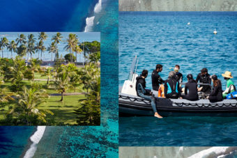 New Caledonia is surrounded by a World Heritage listed lagoon, perfect for snorkelling