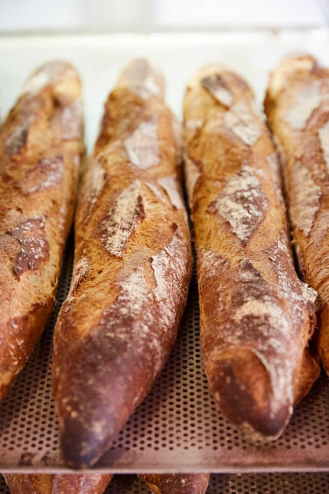 Thanks to its French roots, the warm island air is filled with the aroma of freshly baked bread