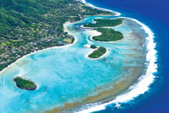 Cook island pacific beach luxury escape holiday