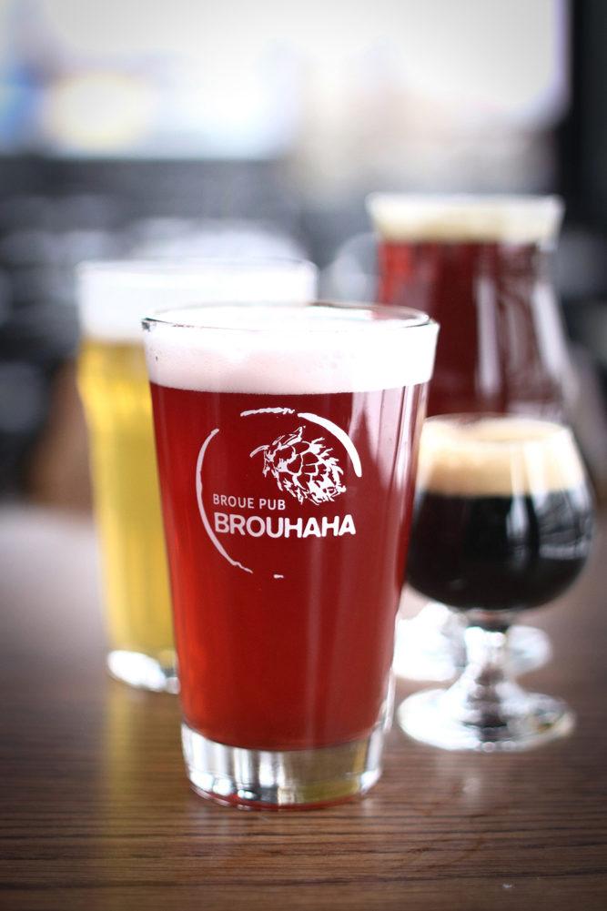 Montreal's popular Broue Pub Brouhaha.