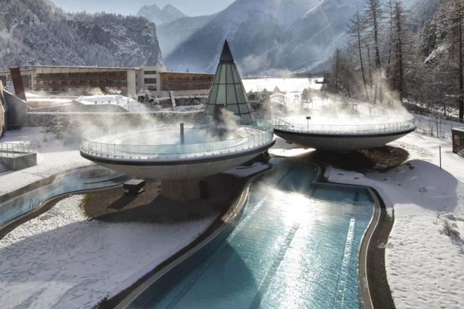 Aqua Dome Thermal Spa near Sölden