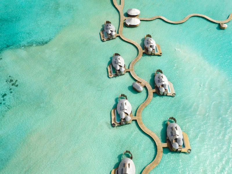 water tropical crystal lagoon getaway luxury travel maldives villa
