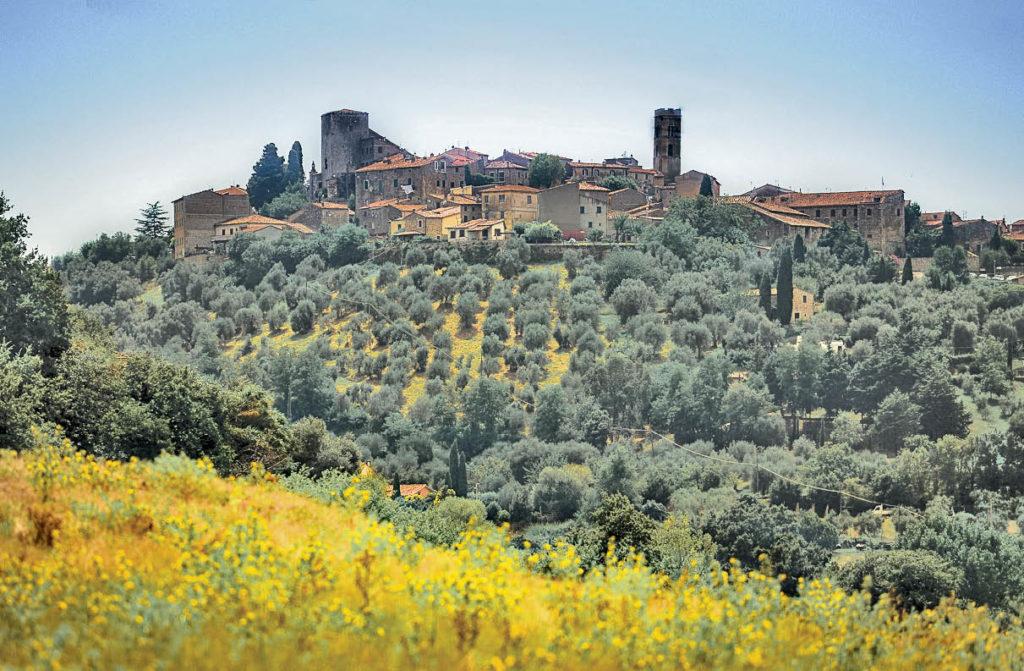 Montemerano village Tuscany Italy