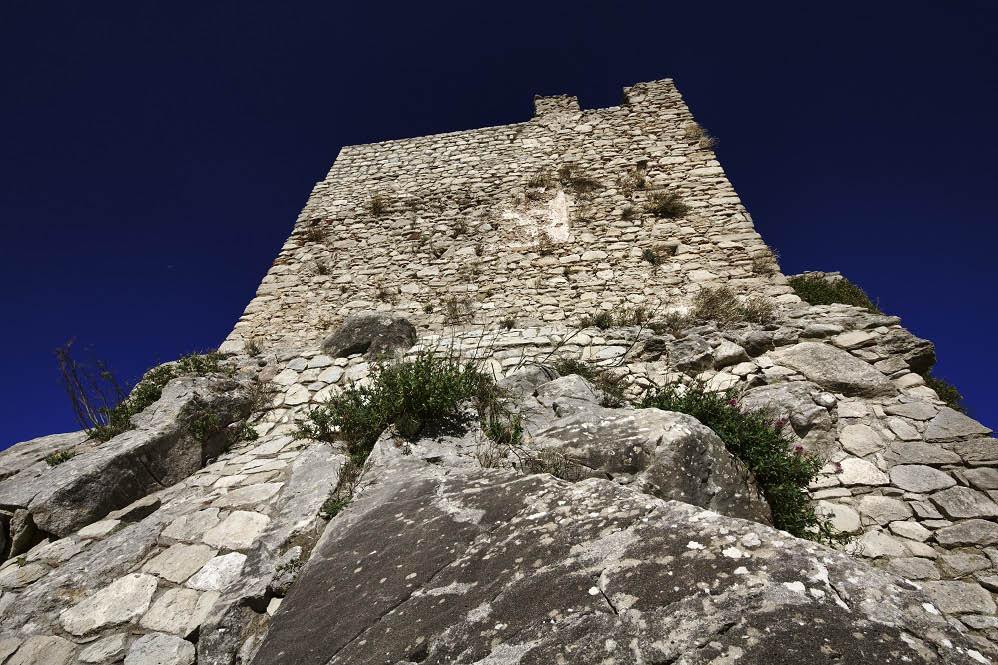 Montalbano Elicona castle Sicily Italy