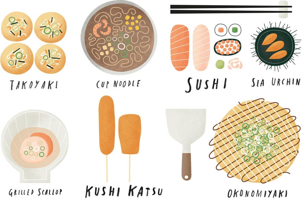 food osaka Japanese