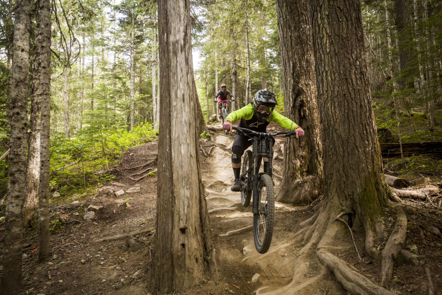 More women are making use of Whistler Mountain Bike Park.