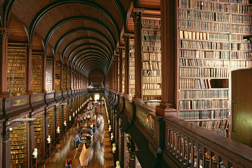 Dublin Long Room Trinity College
