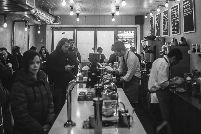 coffee shop NYC cafe
