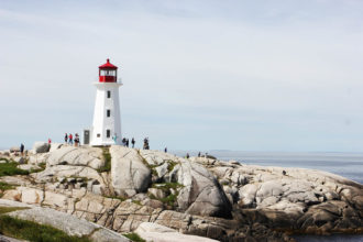Peggy's Point Lighthouse at Peggy's Cove