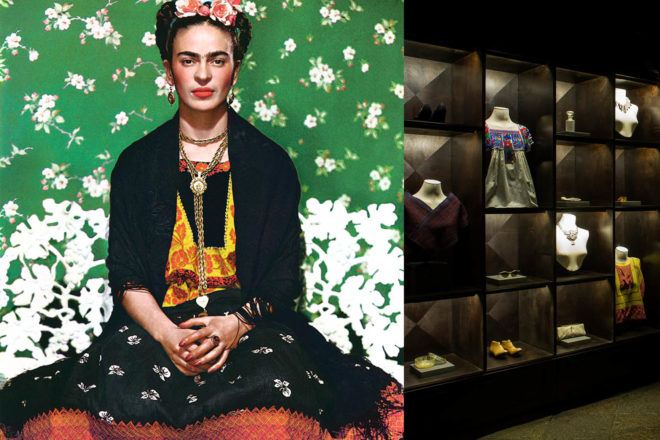colour fashion design frida khalo artist mexican
