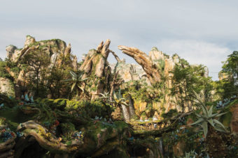 avatar movie attraction Disney land parks