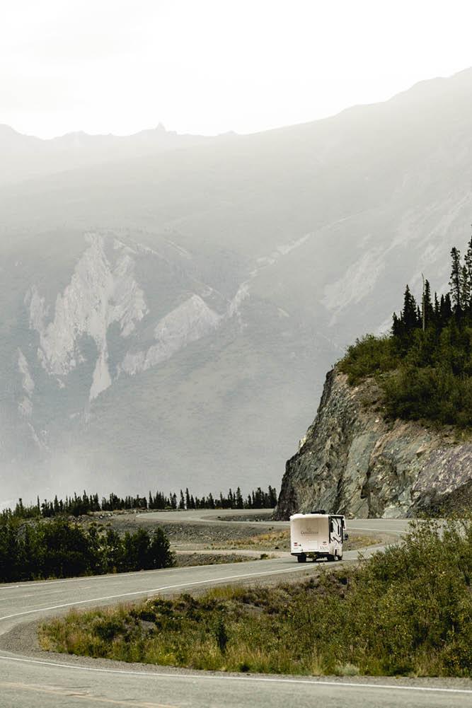 RVing Yukon road trip
