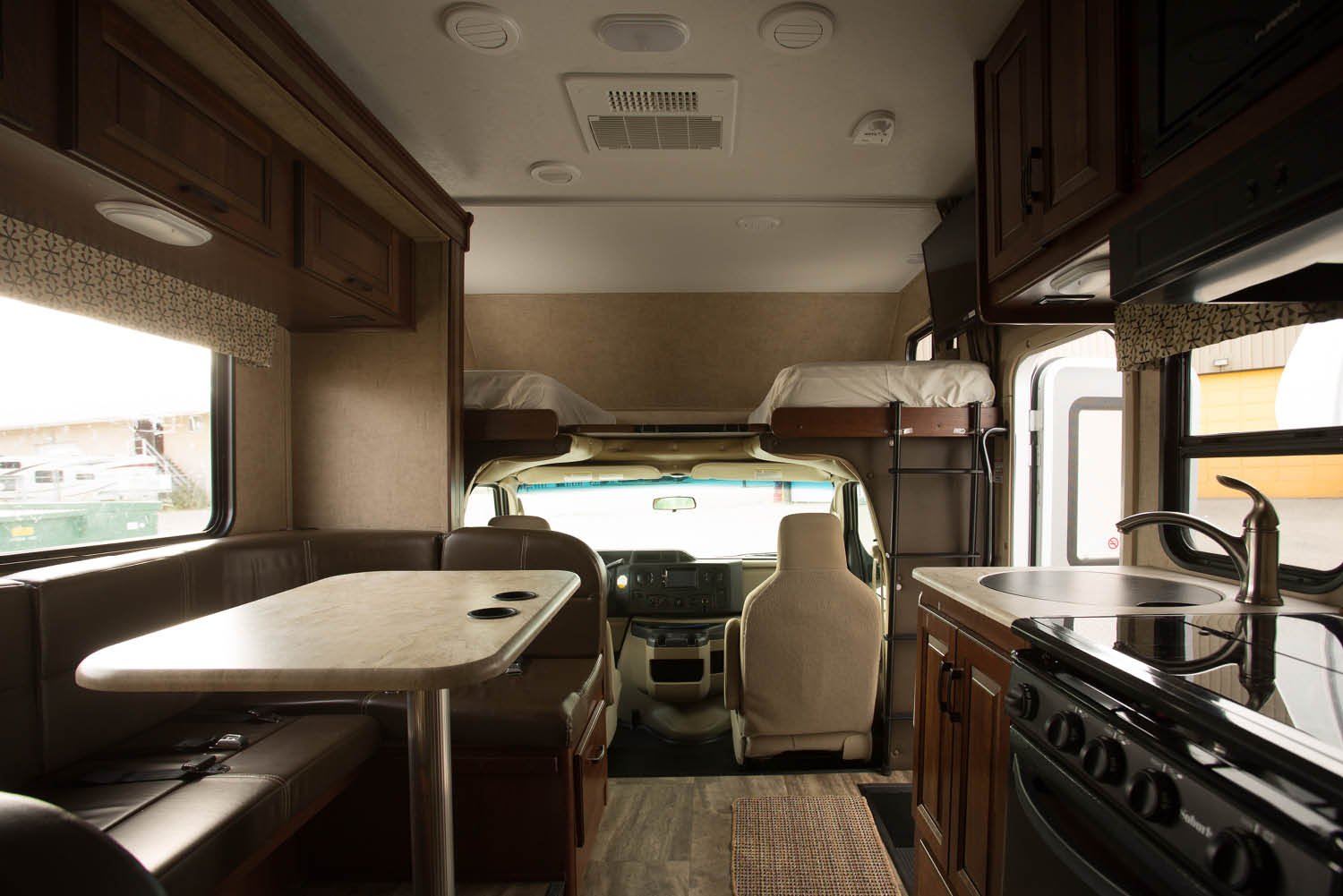 What's inside a rental RV