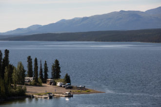 Parks Canada campgrounds Yukon Fox Lake