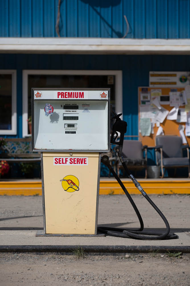 Gas stations Yukon fuel price