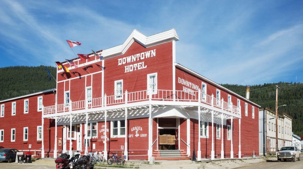 Downtown Hotel Dawson City sourtoe cocktail Yukon