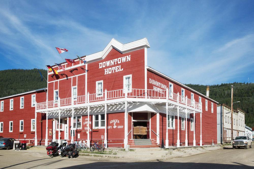 Downtown Hotel Dawson City sourtoe cocktail Yukon