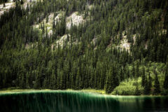 Emerald Lake aqua Yukon