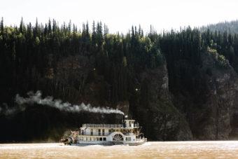 Klondike Spirit paddlewheeler Yukon River