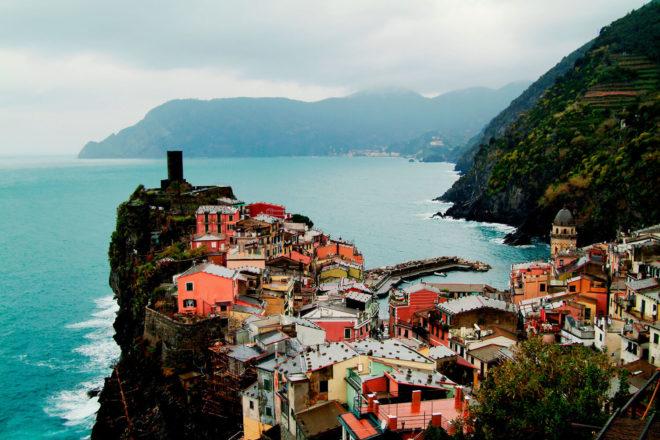 Colourful homes Liguria Cinque Terre