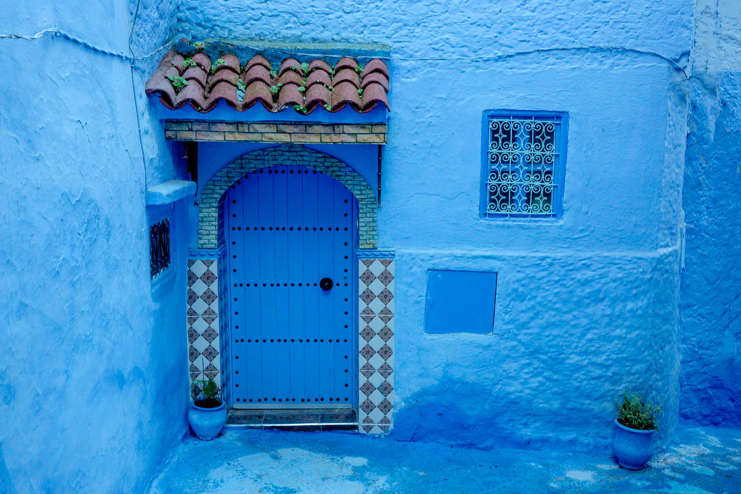 food culture Chefchaouen Morocco blue city god power