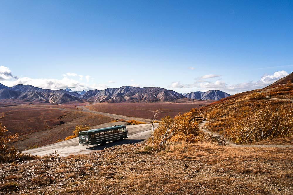 tours Denali national park Alaska RV