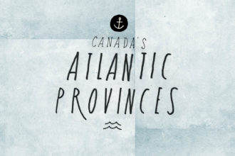 Atlantic Provinces Map