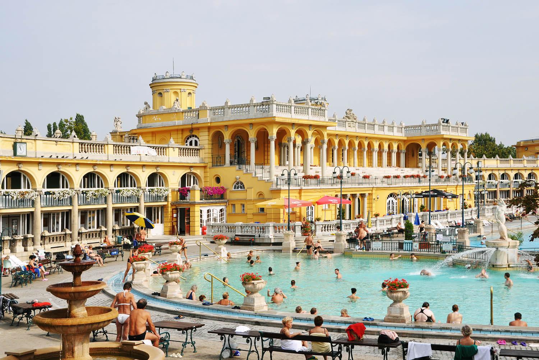 Budapest's Széchenyi Thermal Bath