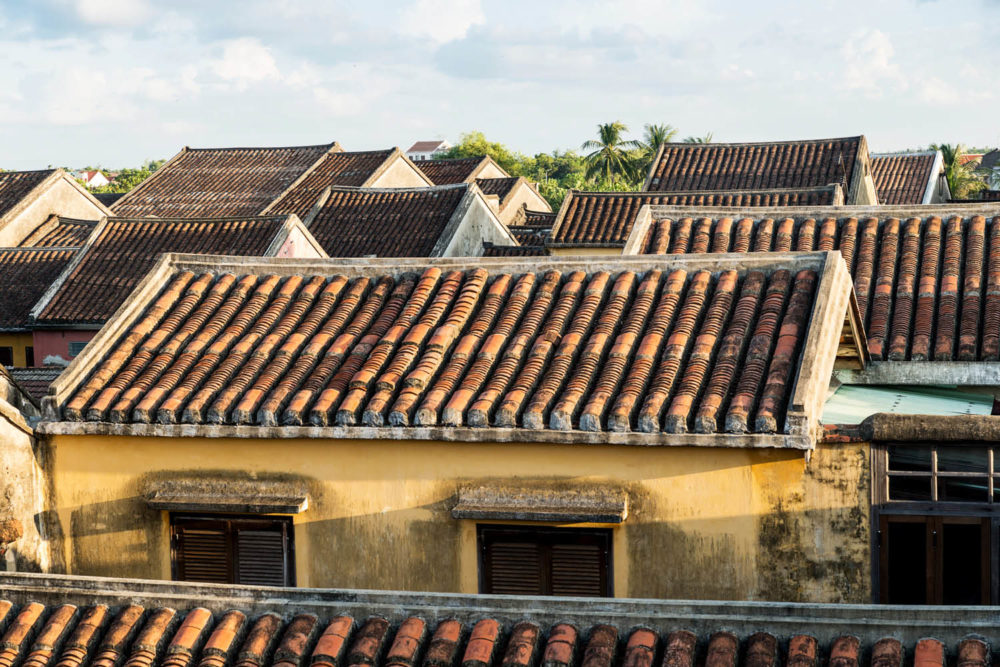 Hoi An Vietnam Wooden buildings sights