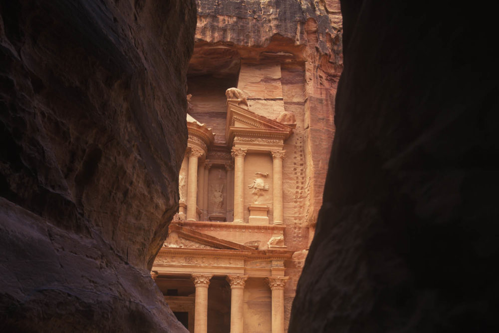Petra under ground Jordan archaeological marvel wonders