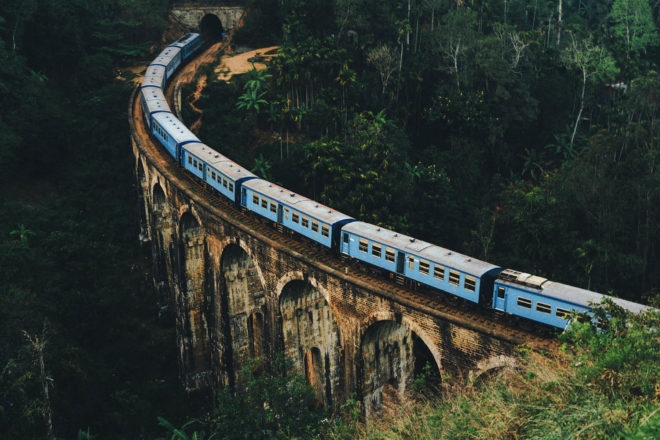 Sri Lanka train travel