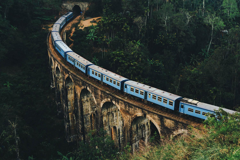 Sri Lanka train travel