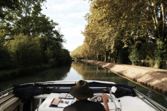 French cruise boats towns canals train trips tour
