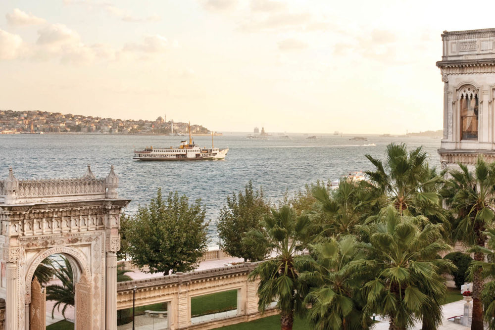The Bosphorus Straight Istanbul