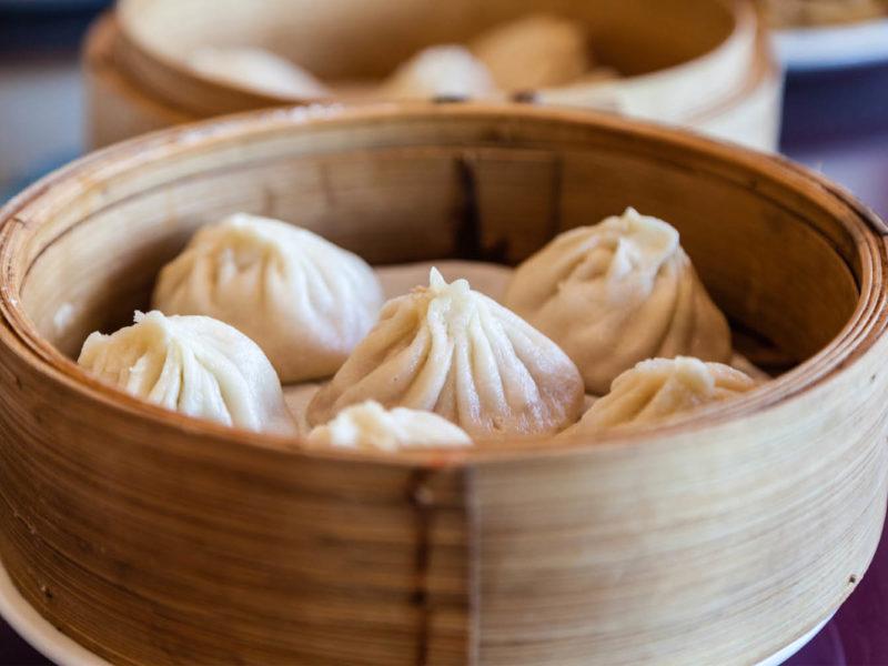 shengjian bao pan-fried pork buns Shanghai