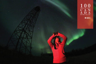 Spying the Northern Lights in Canada