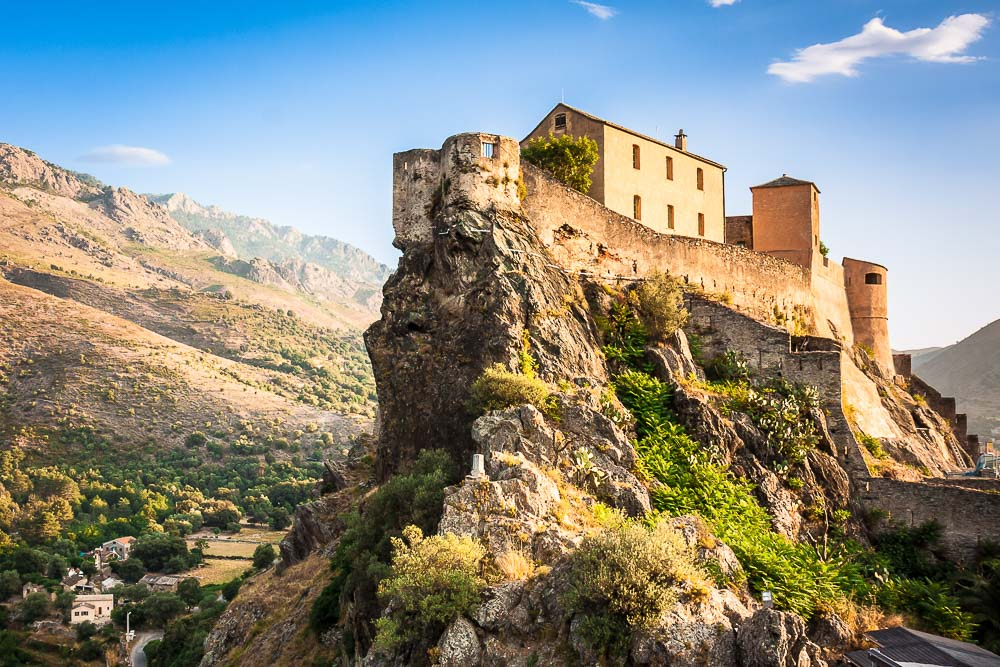 Corte Corsica travel destinations Europe