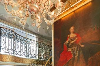 SS Maria Theresa lobby