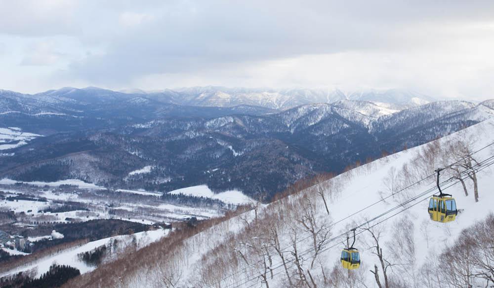 Hokkaido Japan skiing ski alpine landscape