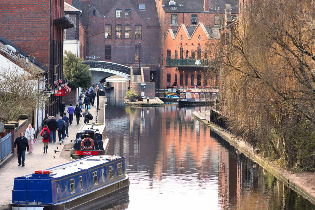 Birmingham canals things to do