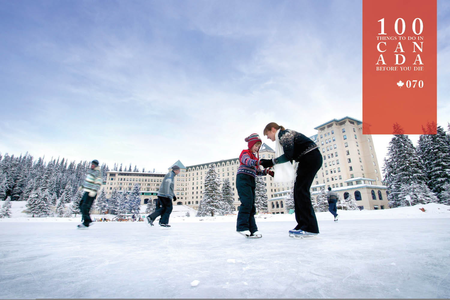 spend a white christmas at the chateau lake louise