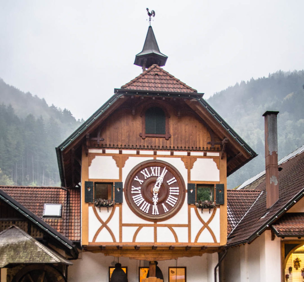#vanlife germany road trip Cuckoo Clock Triberg Black Forest