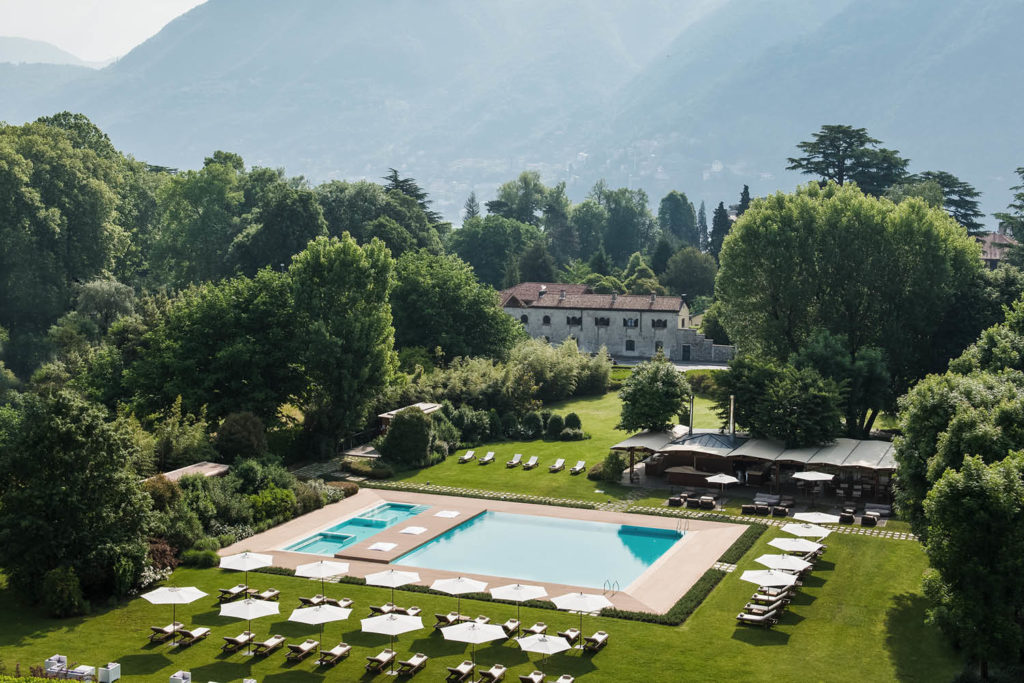 Sheraton Lake Como by van accommodation luxury stays