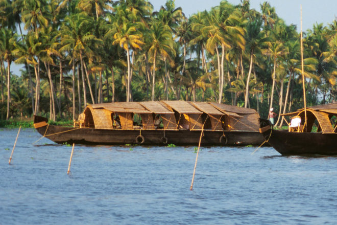 Houseboating in Kerala South India