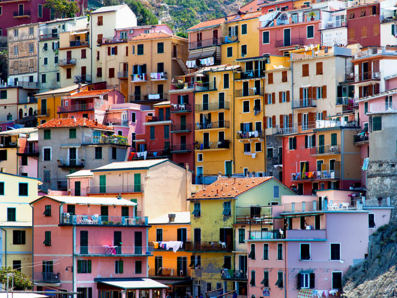 Cinque Terre and Levanto van vanlife campervan Italy sites towns food