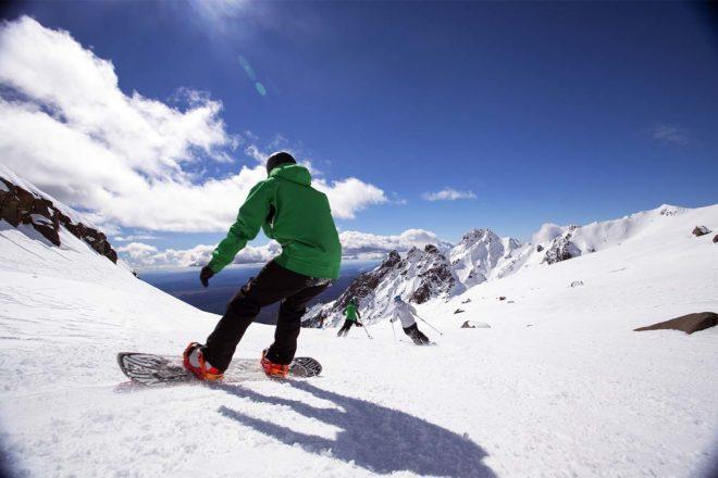 New Zealand snow fields