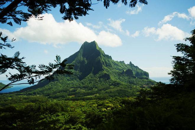 Tahiti Mountains
