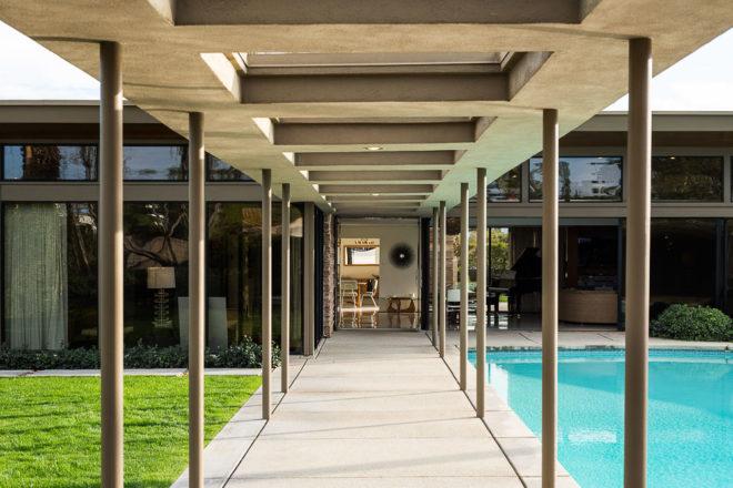 Palm Springs Modernism Week Frank Sinatra Ava Gardner California Celebrity House Tours