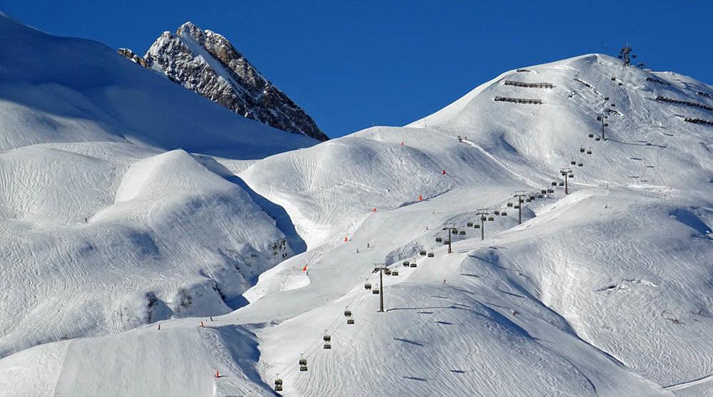 Austria ski field