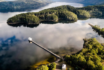 Pumphouse Point, Tasmania